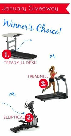 The January Giveaway is here! Win your choice of a treadmill desk, folding treadmill or elliptical (approx $1000 value). Click here to enter: http://stupideasypaleo.com/2014/01/03/january-giveaway/ #giveaway #health #fitness #exercise