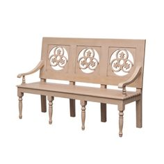 Katana Bench in White from the Mangrove Imports event at Joss and Main!