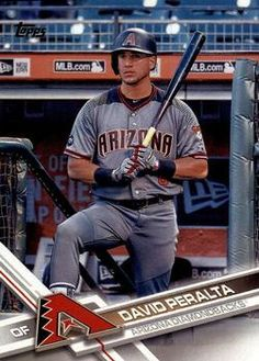 2017 Topps #26 David Peralta Front