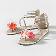 Romantic Stroll Sandals at Claire's