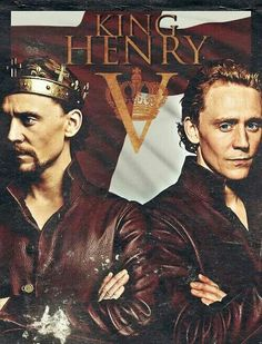 Tom Hidddleston as prince Hal then Henry v ~~~ I need this is as a poster in my bedroom so Hal and Henry can guard my dreams every night ;) <3