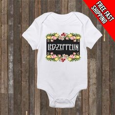 Led-Zeppelin Baby Onesie,Led Zeppelin Baby,Led-Zeppelin Onesies,Band Onesies,Rock Onesies,Led Zeppelin Baby Clothes,FREE FAST SHIPPING by CatzandCoffee on Etsy https://www.etsy.com/listing/269119379/led-zeppelin-baby-onesieled-zeppelin