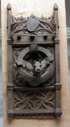 18th C. Spanish Iron Doorknocker