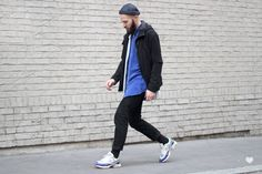 J'aime tout chez toi - Fashion men style - sportswear - Raf Simons x Adidas Ozweego sneakers