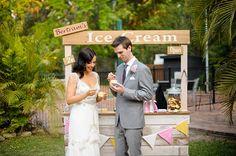How to Make a DIY Ice Cream Bar via Brit + Co.