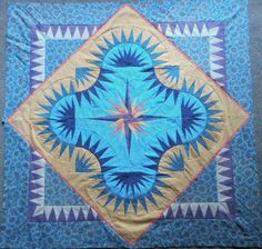 Golden Harvest, Quiltworx.com, Made by Lorri Carey Duarte