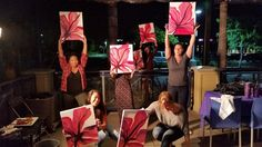 Great time Thursday night with wine, paint, food and music. Thanks to everyone that came out to this wonderful fundraiser for the Otay Ranch Broncos! Don't forget to tag yourself and your friends. See you all again soon at another Paints Uncorked event! #HappyHourPaint #wine #paint #food #music #fundraiser #OtayRanchBroncos