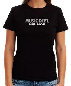 Music Dept Hip Hop Women T-Shirts