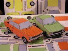 Paper Model Car, Paper Models, Rc Chassis, Diy And Crafts, Paper Crafts, Paper Magic, Scale Models, Hot Wheels, Van