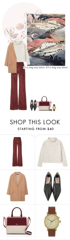 """""""She is."""" by nascondigli ❤ liked on Polyvore featuring Isa Arfen, Monki, MANGO, Miu Miu, Kate Spade and Void"""