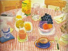 Nell Blaine (1922-1996)  Evening Table