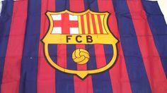 FC Barcelona FCB Official Flag 3x5 Ft Approx Flag football Futbol Club Barcelona…