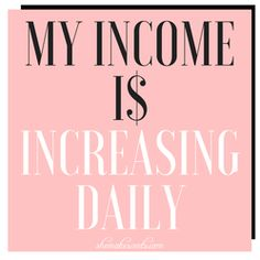 Money Affirmations from personal finance and lifestyle blogger, Danielle YB Vason of She Makes Cents