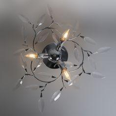 Plafón LEAVES 2 cromo ¡Eche un vistazo a nuestras atractivas ofertas de invierno! Hasta el 80% de descuento en más de 600 productos. #iluminacion #interiorismo #decoracion