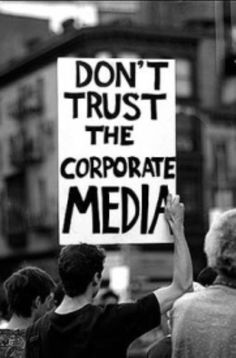 American distrust in deceptive mainstream media hits an all-time high.  AND JUST WHAT DID THE IDIOTS EXPECT?????????