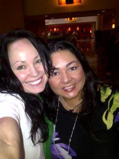 Authors Gena Showalter and Sylvia Day