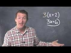 Distributive Property | Dave May Teaches