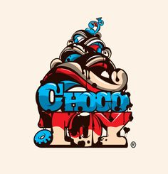 Chocotoy     #illustration #logo #design