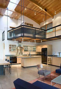 Belas tend ncias para as cozinhas cuisine avec ilot - Appartement duplex winder gibson architecte ...