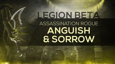 """amazing  WoW LEGION Beta - Artifact Quest 