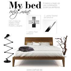 Black and White decor for bedrooms #decor #ioshop #blackandwhite #prints #artset #art #home #homedecor #bedroom