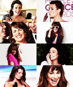 Lea michele... Hahaha :) this expresses her very well! :)