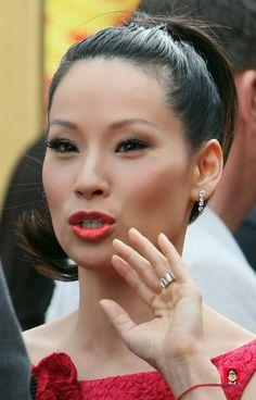 Lucy looked sensational at the U. opening of Kung Foo Panda. Lucy Liu, Beautiful Asian Girls, Beautiful Women, Beautiful People, Miss Philippines, I Love Lucy, Beautiful Actresses, Indian Beauty, Asian Woman