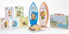 """ホノルルクッキーカンパニーDFS、ケイキコレクションを発売開始  """" Honolulu Cookie Company DFS launched Keiki Collection""""  #Hawaii #ハワイ  http://www.poohkohawaii.com/shopping/hnlcc_keiki.html"""