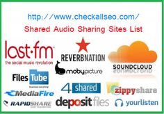 Top Dofollow High PR PodCast Submission, Audia Sharing, Mp3 Hosting Sites List ~ Check All SEO | Search Engine Updates, Trends & SEO News