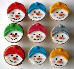VB Sneeuwpop Cupcakes
