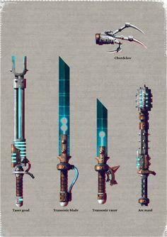 Weapons of the Skitarii