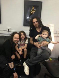 Jonathan Davis & Fieldy With Their Children Music Is My Escape, Music Is Life, My Music, Jonathan Davis, Hold Me Tight, Alternative Music, Korn, Great Bands, Beautiful Moments