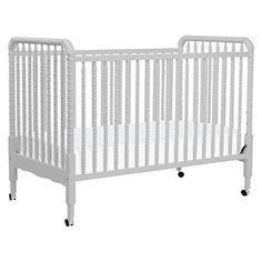 DaVinci Jenny Lind 3-in-1 Convertible Crib, Fog Grey DaVinci