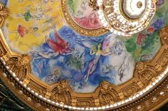1964 mural by Marc Chagall