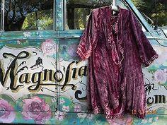 Authentic-Magnolia-Pearl-RARE-Silk-Velvet-Reversible-Coat-Jacket-To-Die-For
