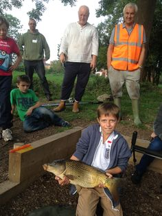 Big carp from a public pond in somerset - caught by a local lad during a Fishwish led community angling project