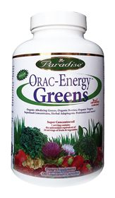 Orac Energy Greens-I'm going take this next year and my doctor recommended to take veggie cap.