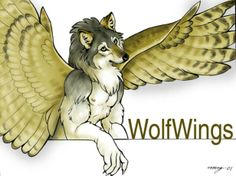 Wolf Wings by Diana Cervantes