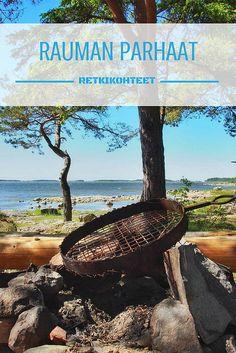 Rauman parhaat retkikohteet eivät saa jäädä salaisuuksiksi | Live now – dream later -matkablogi Summer Sun, Cool Places To Visit, Finland, The Good Place, Hiking, Outdoor Decor, Water, Nice, Walks