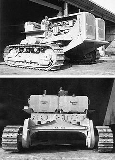 The Twin D8 was one of only three developed by Peterson Tractor's Special Equipment Services between 1949 and 1951. Tested with a variety of attachments, one would eventually be equipped with a custom 22-foot wide bulldozer blade. Peterson engineers would directly influence Caterpillar Research more than any other outside source at the time