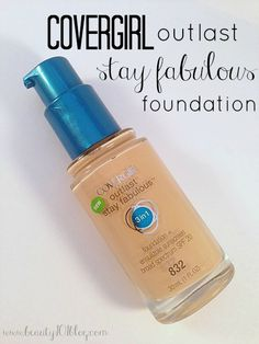 Review: CoverGirl Outlast Stay Fabulous 3-in-1 Foundation - Beauty 101
