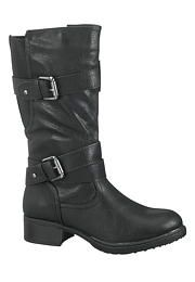 Cali double buckle mid boot - maurices.com