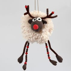 Halloween Pom Pom Pals: Children can use yarn, pipe cleaners and . Halloween Pom Pom Pals: Children can yarn, pipe cleaners and . Crafts To Make And Sell, Crafts For Kids, Diy Crafts, Preschool Crafts, Christmas Crafts, Christmas Decorations, Christmas Ornaments, Xmas, Pipe Cleaner Crafts