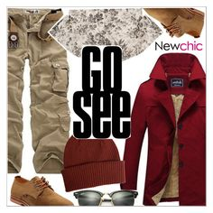 """""""Newchic"""" by teoecar ❤ liked on Polyvore featuring Gucci, Paul Smith, Ray-Ban, men's fashion and menswear"""