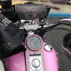 Pink Trike Bling