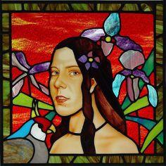 Art: Polynesian Self Portrait by Artist Dawn Lee Thompson