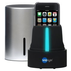 Smartphone Sanitizer. Keep it clean! Sanitize cell phones and other small devices like Bluetooth headsets, earbuds, and MP3 players in just minutes with the Violight UV Cell Phone Sanitizer. $50.00