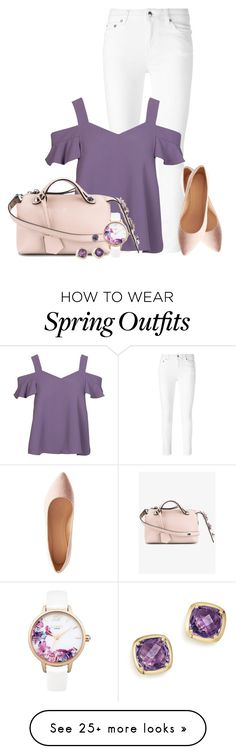 """Cold Shoulder Look for Spring"" by lilmissmegan on Polyvore featuring McQ by Alexander McQueen, Fendi, Lipsy, Charlotte Russe, Bloomingdale's and outfitonly"