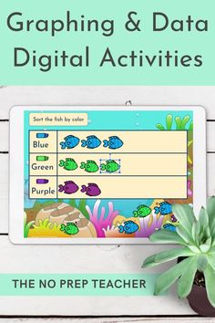 Looking for digital activities to use with your graphing and data math unit? Your first grade students will love these fun, hands on, digital math centers. They will sort objects to create a pictograph and then answer questions about the graph. Use with google classroom during distance learning or in your 1:1 classroom. Audio instructions included so your primary kids can work independently. Common core aligned to the first grade math standards.