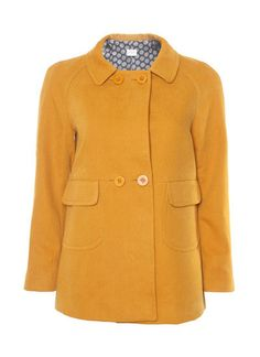 Gorman acorn jacket: extured cotton jacket features raglan sleeves, four button closure and front pockets. Gorman Clothing, Neon Accessories, Cotton Jacket, Printed Pants, Winter Wardrobe, Girly Girl, Simple Style, Your Style, Personal Style